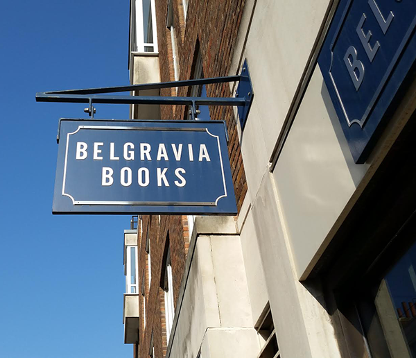 Belgravia Books shop front