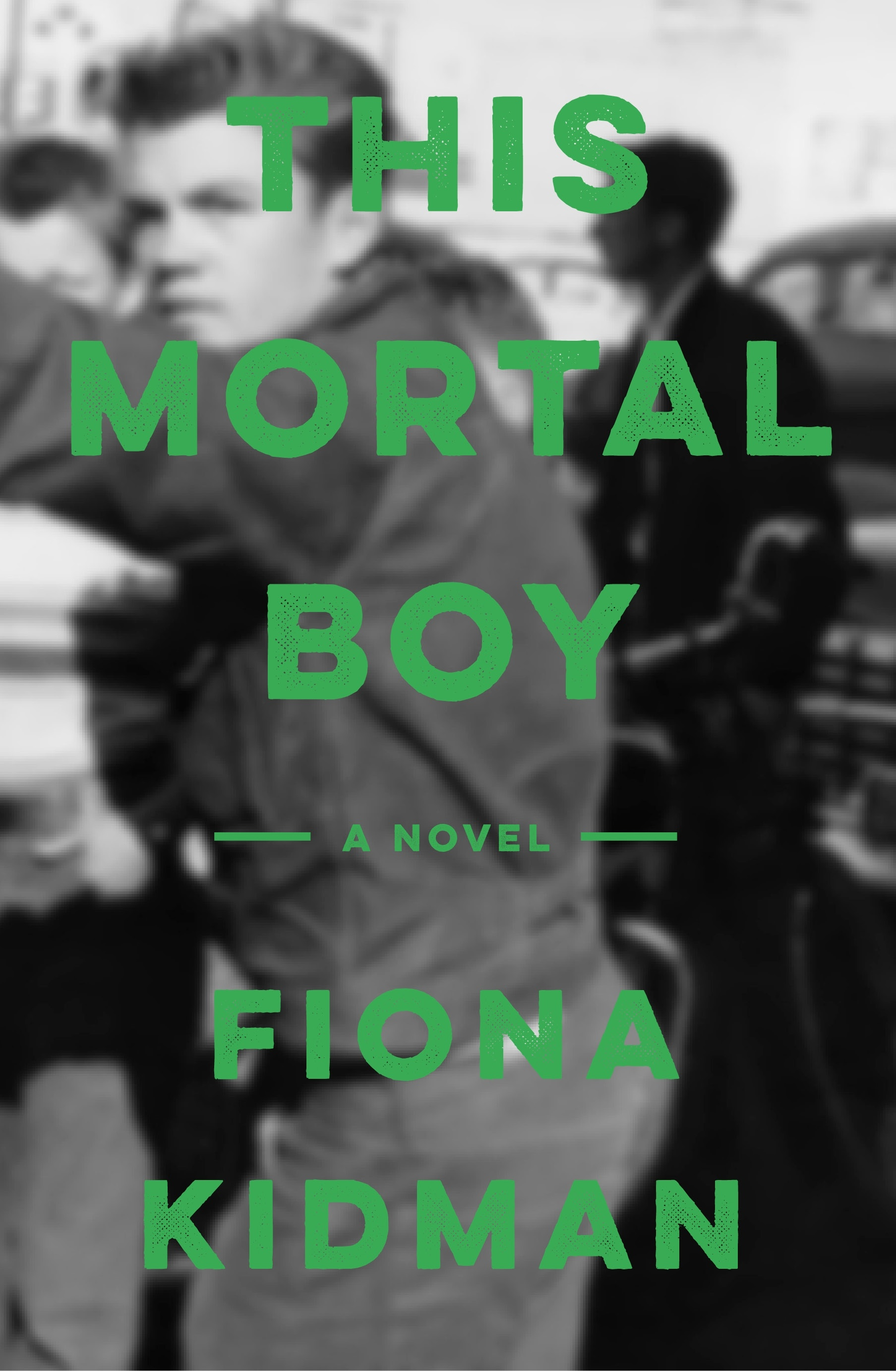 Fiona Kidman This Mortal Boy Holding Cover