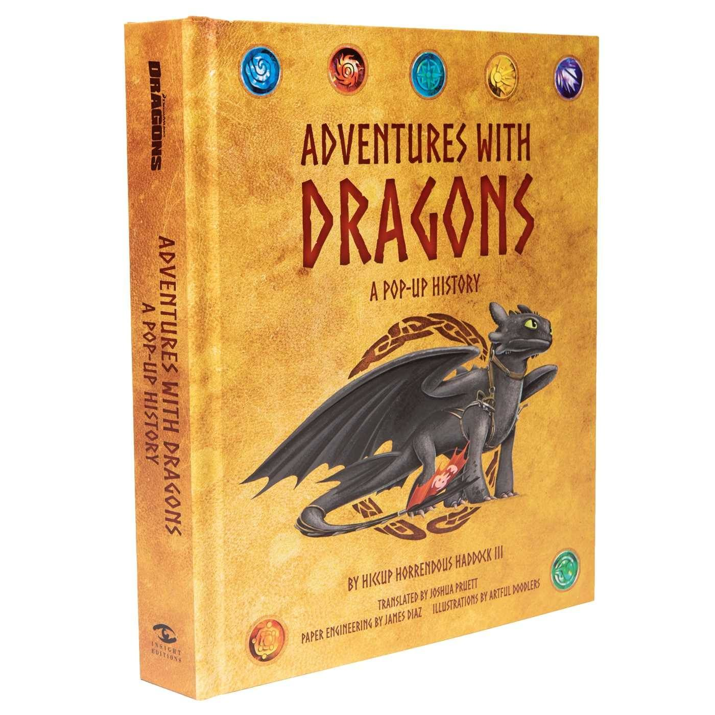 DreamWorks Dragons: Adventures with Dragons: A Pop-Up History