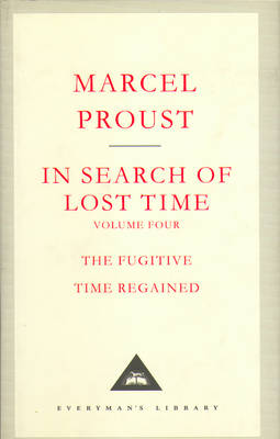 In Search of Lost Time: Volume Four